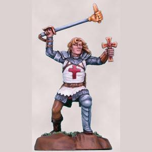 Male Cleric with Mace