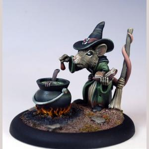 Female Mouse Witch - 2010 Halloween Tribute
