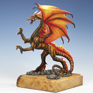 T'char: Dragon of Flame and Fury