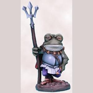 Frog Guard with Trident