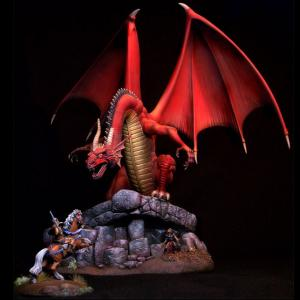 Elmore Dragons Special Edition Resin Diorama Kit