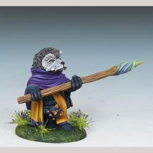 Hedgehog Mage with Staff