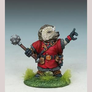 Hedgehog Cleric with Mace