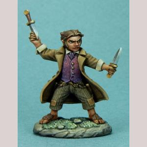 Halfling Rogue with Daggers