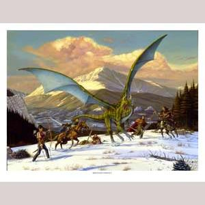 Mountain Conflict, Limited Edition Print