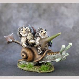 Hedgehogling Cavalry on Snail