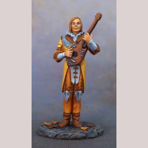Male Bard with Lute