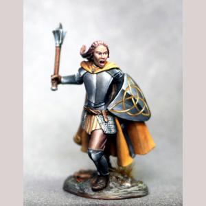 Female Warrior/Cleric with Weapon & Head Options