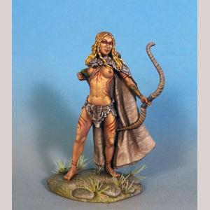 Female Feral Elf with Bow