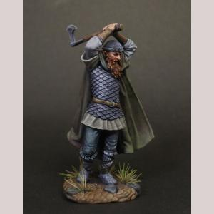Viking Warrior with Battle Axe
