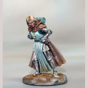 Marching Female Cleric